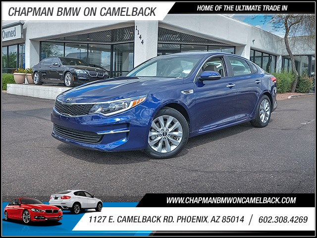 2016 Kia Optima LX 16501 miles 6023852286 1127 E Camelback Rd Chapman Value center on Camelb