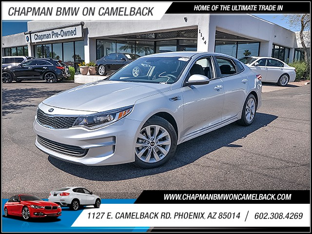 2016 Kia Optima LX 15799 miles 6023852286 1127 E Camelback Rd Chapman Value center on Camelb