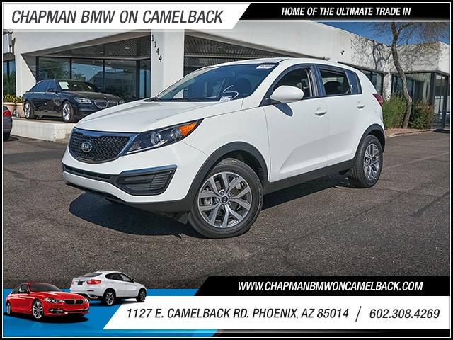 2016 Kia Sportage LX 12519 miles 6023852286 1127 E Camelback Rd Chapman Value center on Came