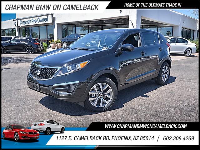 2016 Kia Sportage LX 10927 miles 6023852286 1127 E Camelback Rd Chapman Value center on Came