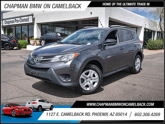 2014 Toyota RAV4 LE 34469 miles 6023852286 1127 E Camelback Rd Chapman Value center on Camel
