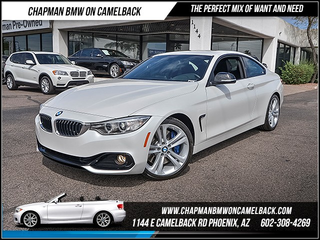 2014 BMW 4-Series Cpe 435i Sport Line 13562 miles 6023852286 - 12th St and Camelback Chapman B