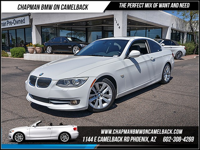 2013 BMW 3-Series Cpe 328i 51373 miles Premium Package Satellite communications BMW Assist Wire