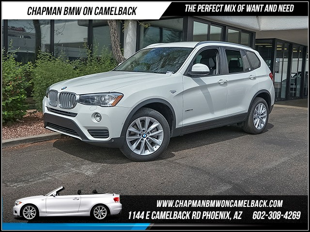 2017 BMW X3 sDrive28i 11128 miles 6023852286 - 12th St and Camelback Chapman BMW on Camelback