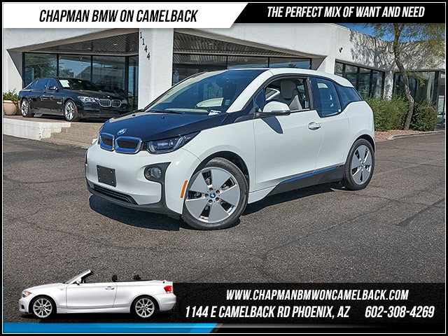 2014 BMW i3 14808 miles Mega World Wireless data link Bluetooth Phone hands free Satellite com