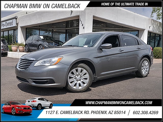 2012 Chrysler 200 LX 69511 miles 6023852286 1127 E Camelback Rd Chapman Value center on Came