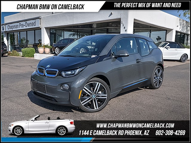 2014 BMW i3 11367 miles Tera World Parking Assistance Package Tech  Driving Assist Package Dr