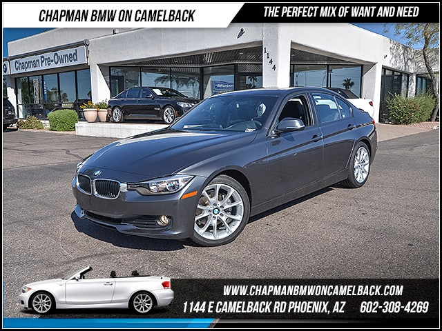 2014 BMW 3-Series Sdn 320i 26384 miles Sport Package Phone hands free Satellite communications