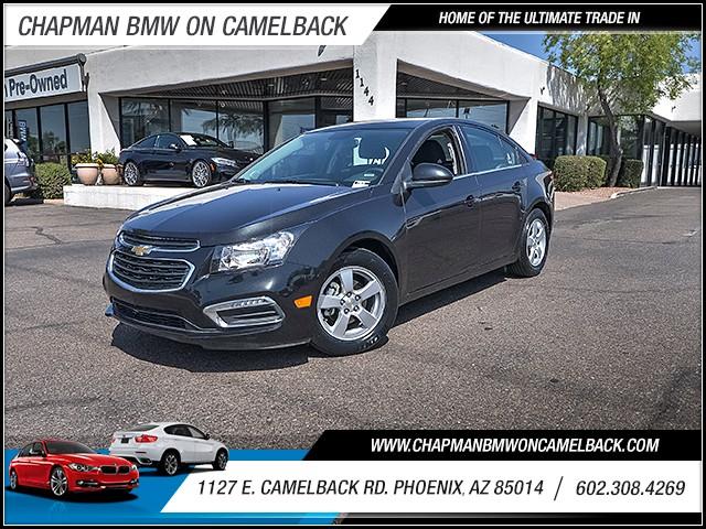 2016 Chevrolet Cruze Limited LT 38750 miles 6023852286 1127 E Camelback Rd Chapman Value cen
