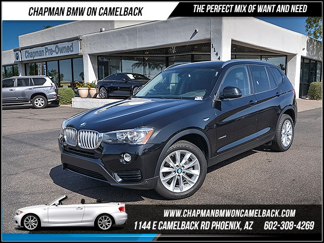 2017 BMW X3 xDrive28i 9313 miles Premium Package II Technology Package Driving Assistance Packa