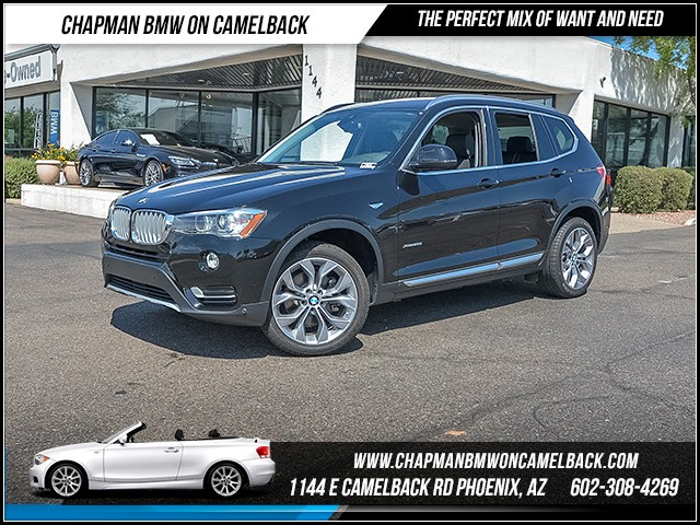 2017 BMW X3 xDrive28i 12734 miles X Line Premium Package II Driver Assistance Package Driver A