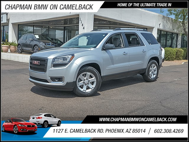 2015 GMC Acadia SLE 56175 miles Wireless data link Bluetooth Satellite communications OnStar Sa