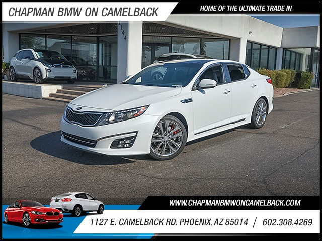 2015 Kia Optima SXL Turbo 33336 miles Wireless data link Bluetooth Cruise control Navigation sy