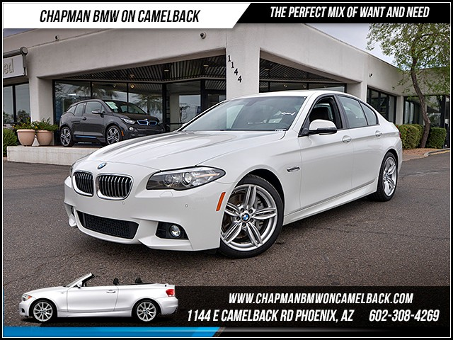 2016 BMW 5-Series 535d 9758 miles 6023852286 - 12th St and Camelback Chapman BMW on Camelback