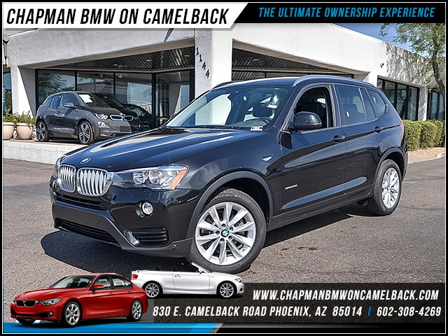 2017 BMW X3 sDrive28i 10582 miles Premium Package II Technology Package Driving Assistance Pack