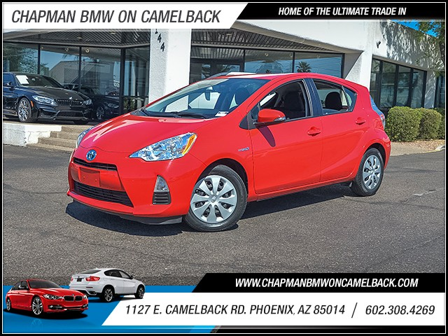 2014 Toyota Prius c Two 25321 miles Wireless data link Bluetooth Cruise control 2-stage unlocki