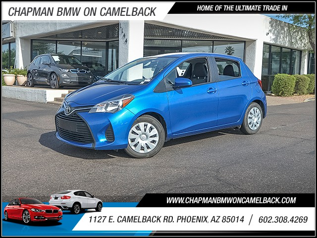 2015 Toyota Yaris 5-Door L 34412 miles 6023852286 1127 E Camelback Rd Chapman Value center o