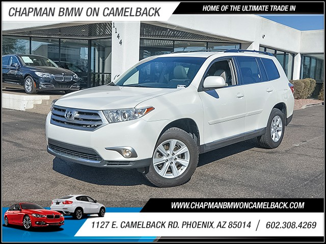 2013 Toyota Highlander SE 81830 miles Chapman Value Center on Camelback is specializing in late m