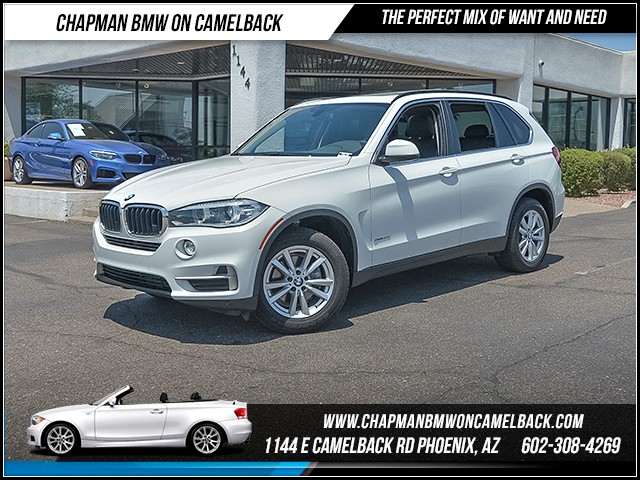 2014 BMW X5 sDrive35i 51967 miles 6023852286 - 12th St and Camelback Chapman BMW on Camelback
