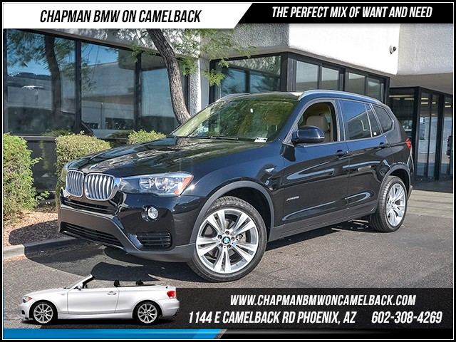 2016 BMW X3 xDrive28i 16394 miles 6023852286 - 12th St and Camelback Chapman BMW on Camelback