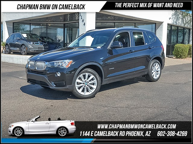 2016 BMW X3 xDrive28i 17721 miles 6023852286 - 12th St and Camelback Chapman BMW on Camelback