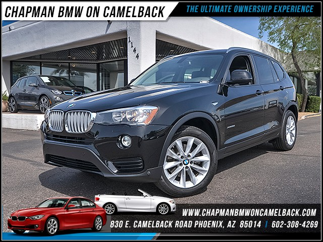 2016 BMW X3 xDrive28i 20053 miles 6023852286 - 12th St and Camelback Chapman BMW on Camelback