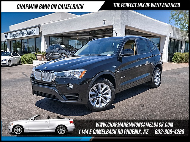 2016 BMW X3 xDrive28i 21273 miles 6023852286 - 12th St and Camelback Chapman BMW on Camelback