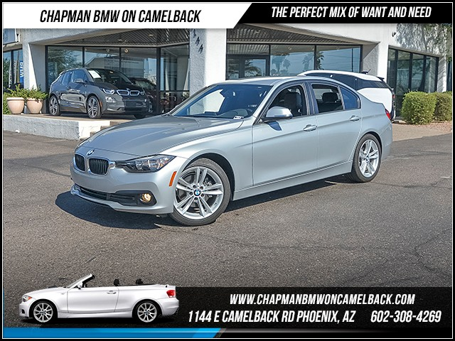 2016 BMW 3-Series Sdn 320i 15824 miles Sport Package Phone hands free Satellite communications