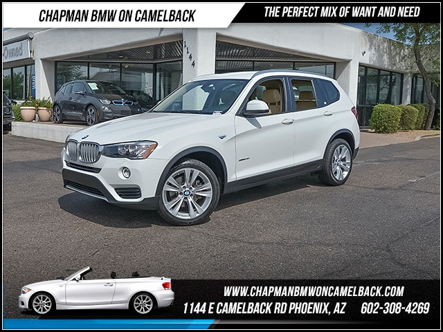 2016 BMW X3 xDrive28i 17933 miles 6023852286 - 12th St and Camelback Chapman BMW on Camelback