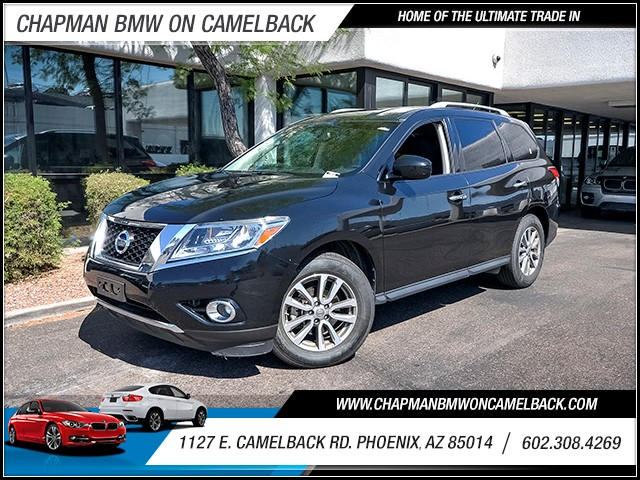 2015 Nissan Pathfinder SV 45156 miles Wireless data link Bluetooth Cruise control Parking senso