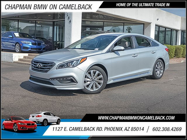 2015 Hyundai Sonata Sport 16370 miles 6023852286 1127 E Camelback Rd Chapman Value center on