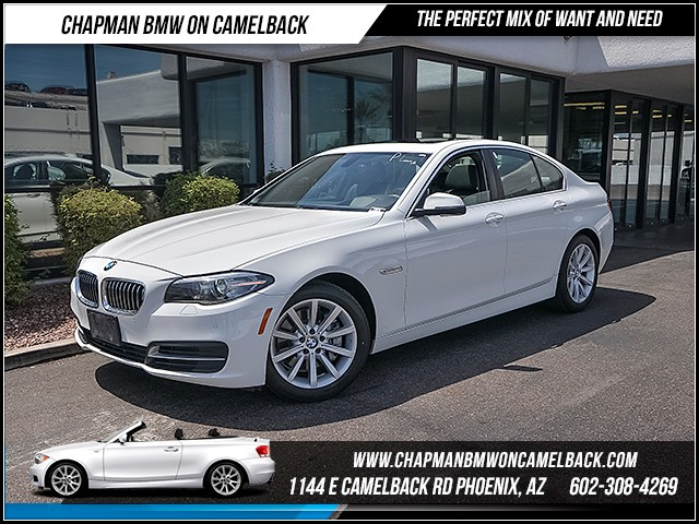 2014 BMW 5-Series 535d 43594 miles 6023852286 - 12th St and Camelback Chapman BMW on Camelback