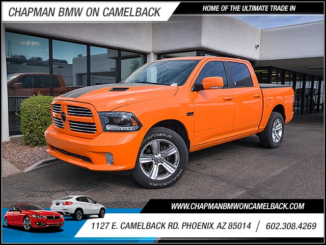2015 Ram 1500 Sport Crew Cab 23555 miles 6023852286 1127 E Camelback Rd Chapman Value center
