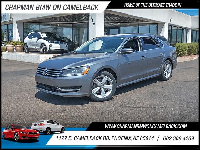 2013 Volkswagen Passat SE PZEV 57140 miles 6023852286 1127 E Camelback Rd Chapman Value cent