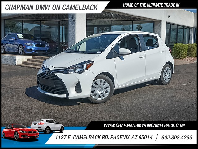 2015 Toyota Yaris 5-Door L 33295 miles 6023852286 1127 E Camelback Rd Chapman Value center o