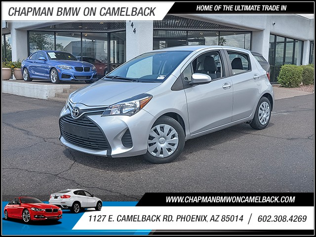 2015 Toyota Yaris 5-Door L 35953 miles 6023852286 1127 E Camelback Rd Chapman Value center o