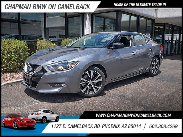 2016 Nissan Maxima 35 S 42904 miles 6023852286 1127 E Camelback Rd Chapman Value center on
