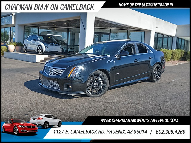 2011 Cadillac CTS-V 72027 miles Phone antenna Satellite communications OnStar Phone hands free