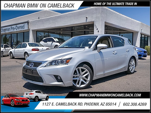2014 Lexus CT 200h 28941 miles Wireless data link Bluetooth Phone voice operated Cruise control