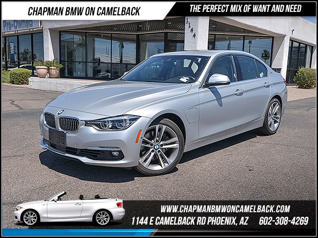 2016 BMW 3-Series Sdn 330e 5591 miles Luxury Package Premium Package Technology Package Drivin