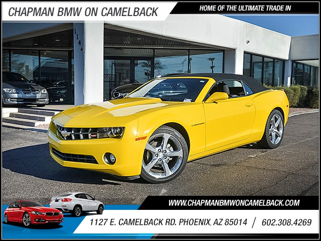 2013 Chevrolet Camaro LT 41903 miles Chapman Value Center on Camelback is specializing in late mo