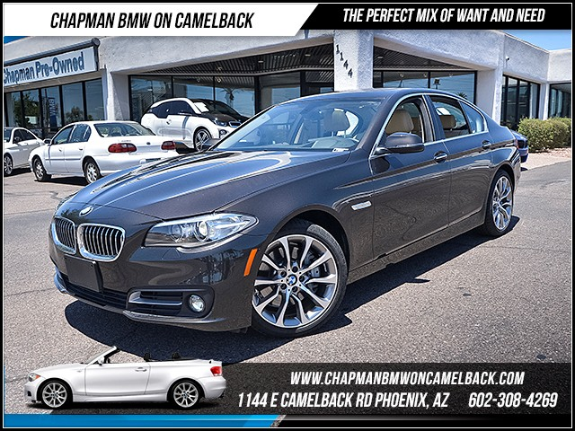 2016 BMW 5-Series 535i 10116 miles 6023852286 - 12th St and Camelback Chapman BMW on Camelback