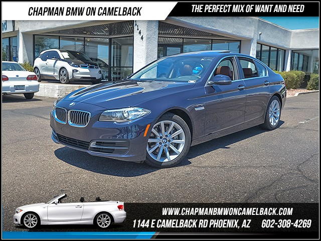 2014 BMW 5-Series 535i xDrive 35995 miles 6023852286 - 12th St and Camelback Chapman BMW on Ca