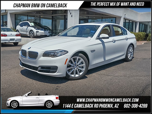 2014 BMW 5-Series 550i xDrive 18164 miles 6023852286 - 12th St and Camelback Chapman BMW on Ca