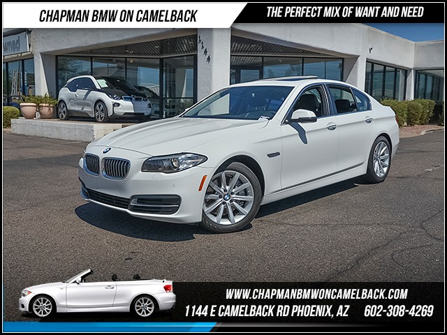 2014 BMW 5-Series 535i 32002 miles 6023852286 - 12th St and Camelback Chapman BMW on Camelback