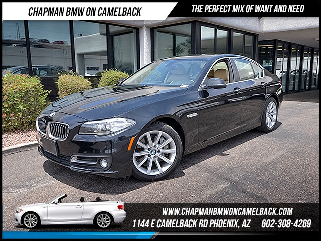 2015 BMW 5-Series 535i xDrive 46615 miles 6023852286 - 12th St and Camelback Chapman BMW on Ca