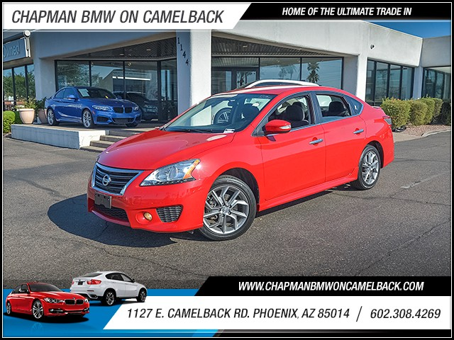 2015 Nissan Sentra SR 22649 miles 6023852286 1127 E Camelback Rd Summer Sales Event on Now