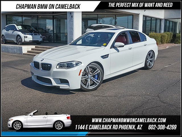 2015 BMW M5 22875 miles 6023852286 - 12th St and Camelback Chapman BMW on Camelback Summer Sal