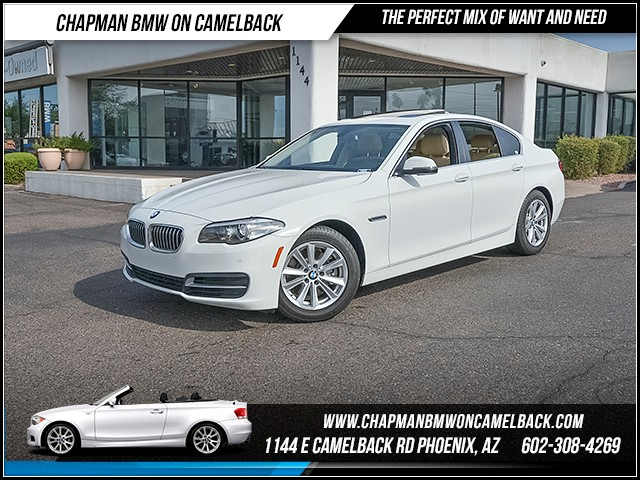 2014 BMW 5-Series 528i 14848 miles Driving Assistance Package Phone hands free Real time traffi