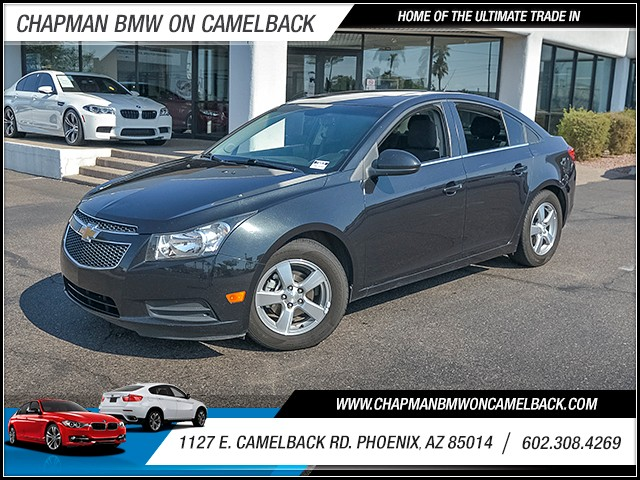 2012 Chevrolet Cruze LT 93171 miles Satellite communications OnStar Cruise control 2-stage unlo